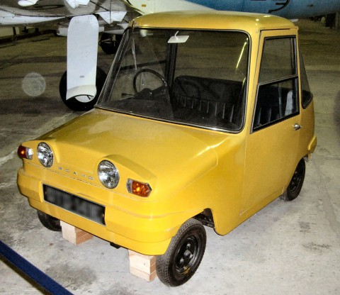 The Scottish Aviation Scamp is a small concept electric city car that was designed between 1964 and 1966 by Scottish Aviation.
