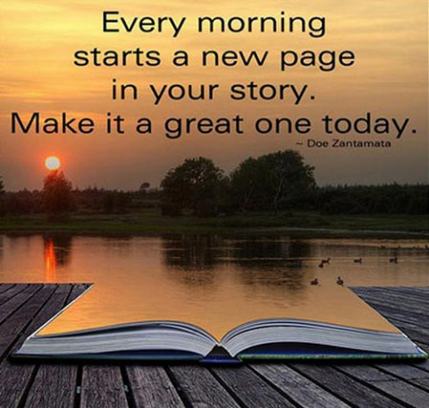 good-morning-quotes-every-morning-starts-a-new-page